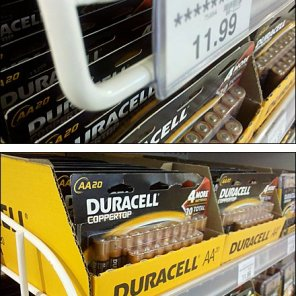 Double Horizontal Wire Label Holder