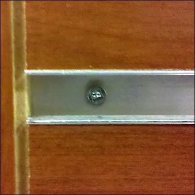 Hidden Slatwall Square-Drive Socket Cap Screw Repair