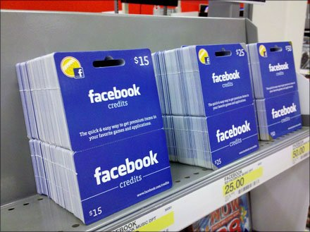 52-Card-Pickup for Facebook Credits Gift Cards
