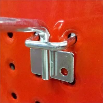 Perforated Metal Flatback Detail
