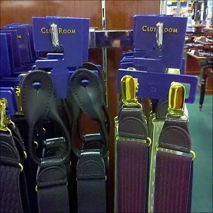90º Bar Hook for Suspenders
