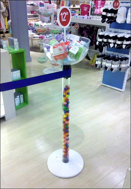 Stanchions As Selling Tools