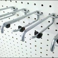 Auto Installed ICC Inventory Control Clips on Hooks