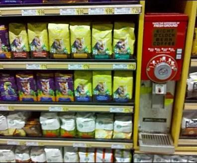 Coffee Bag Shelf Management