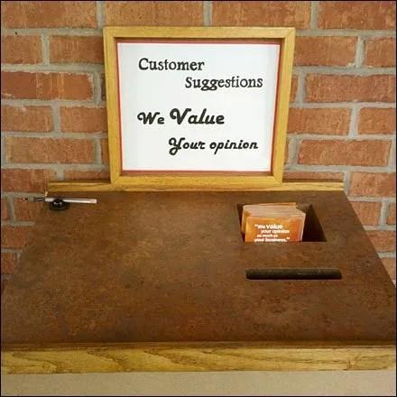 Wegman's Customer Suggestion Center