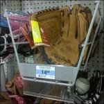 Baseball Glove Tray Has Talker