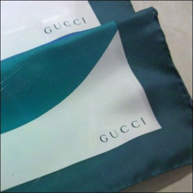 Gucci Logo on Scarves