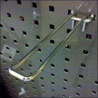Perfed Metal Square Hole Loop Hook Detail