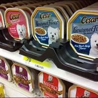 Plastic Tray Gourmet Dogfood