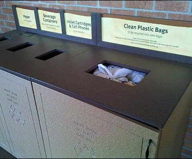 Recycling Station Built-in