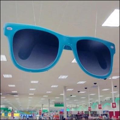 Sunglasses Ceiling POP Large