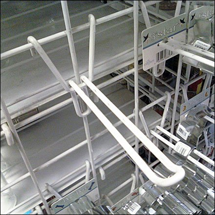 V-Back Grid Safety Loop Hook