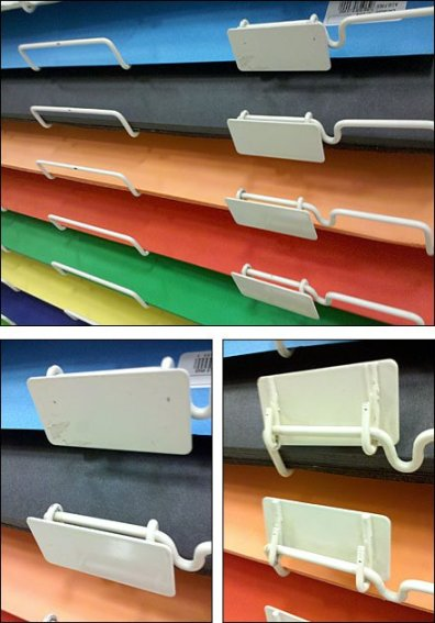 Hinged Metal Plate Holders