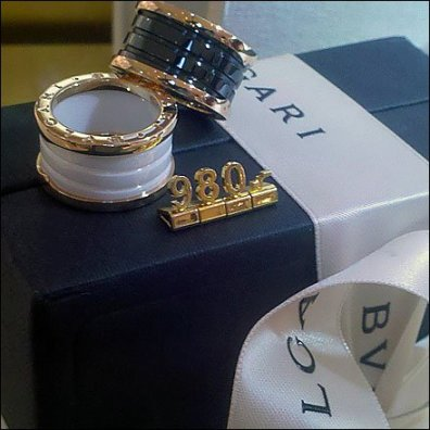 Solid Gold Pricing Bulgari Detail