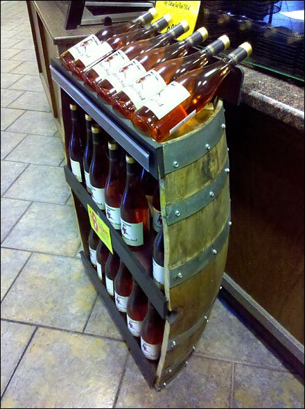 Recycle Wine Barrels