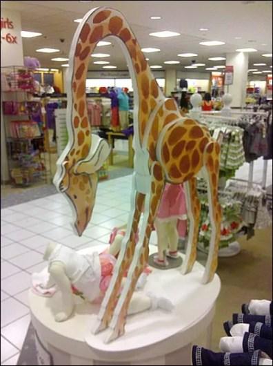 Foam Core Layup Giraffe