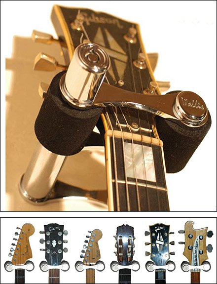 Locking Wall Fixture for Guitars