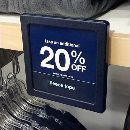 """Solid-Shelf Sign Holder Says """"I Am A Sign"""""""
