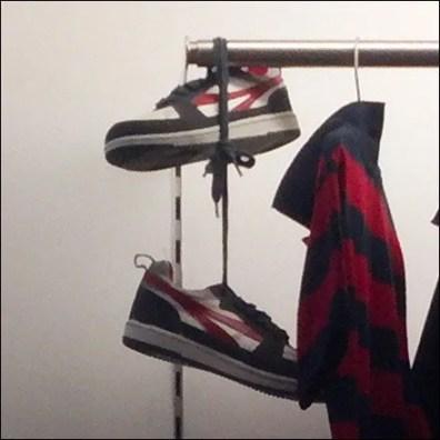 Shoefetti Shoes as Bolo Detail
