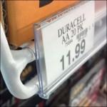 Wire Shelf Label Detail
