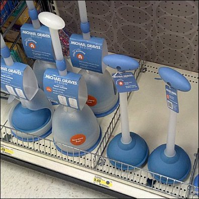 Michael Graves Toilet Plungers