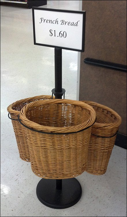 Low-Rider French Bread Baskets