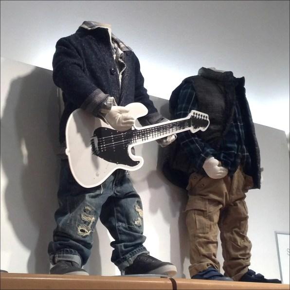 Kids Foamcore Guitar Detail