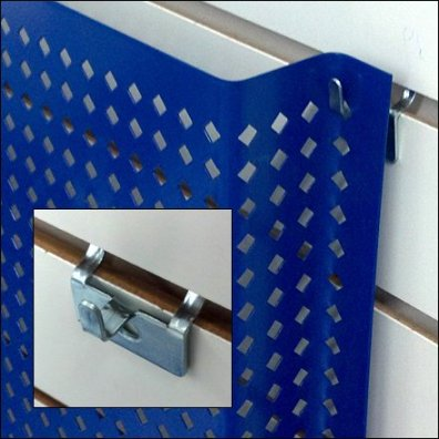 Perforated Metal Pin-Up Detail