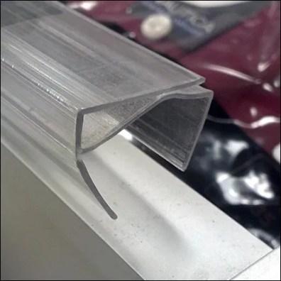 Solid Shelf Edge Label Strip Profile Detail