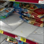 Plastic Freezer Tray Shelf-Overlay Unbranded