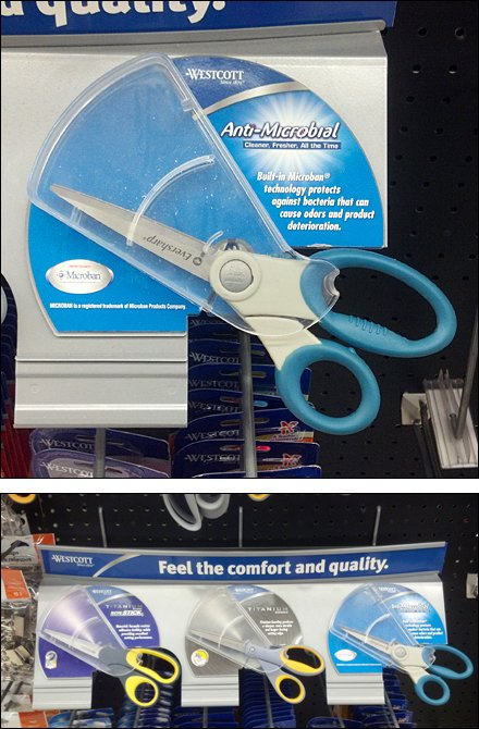 Scissor Point of Purchase Display