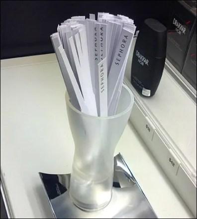 Tester Strip Vase