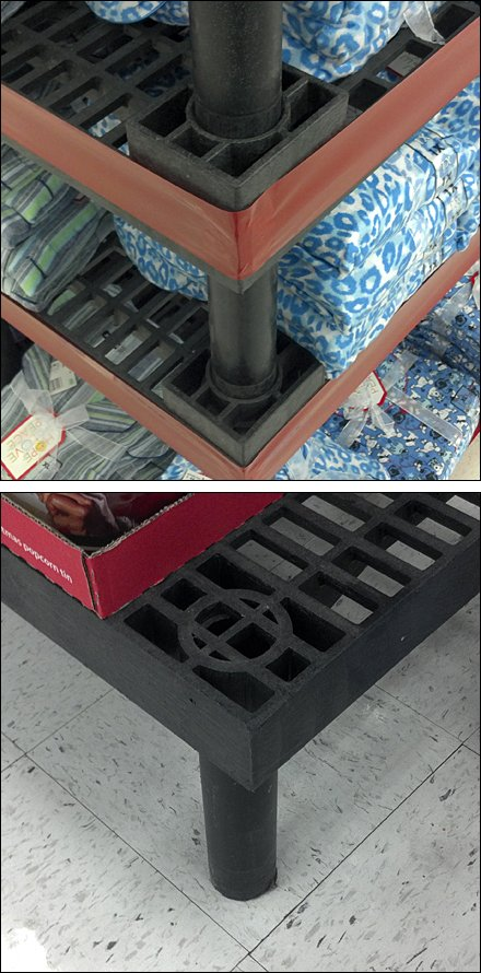 Stackable Retail Dunnage Racks