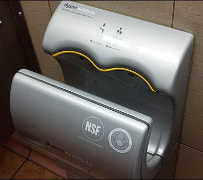 Dyson Air Blade Hand Dryer Main