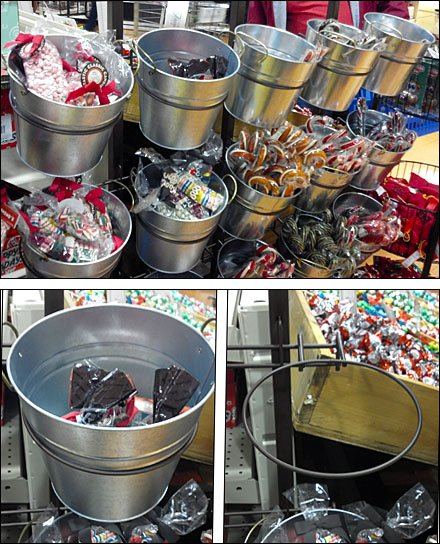Candy Sales by the Bucketful