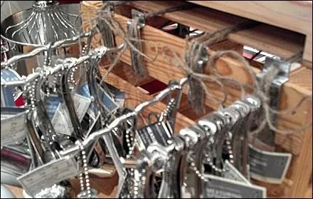 Wood Crate Hooks Tie In Retail