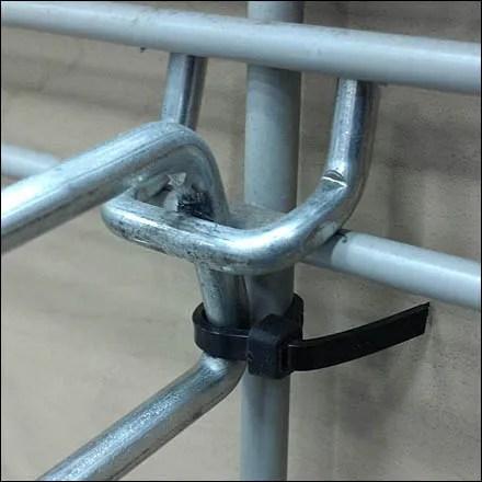 Zip Tie Hook Security Detail