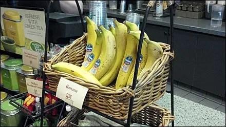 Banana in Wicker Basket Main Photo