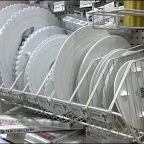 Oversize Cake Plates-Circles Endless Basket Dividers Main