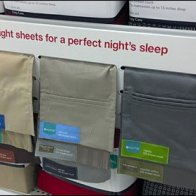 Fabric Sample point of purchase shelf edge sign fabric sample
