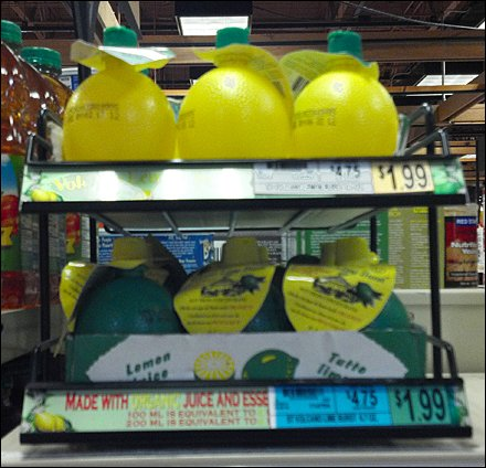 Lemons & Limes Shelf Managed