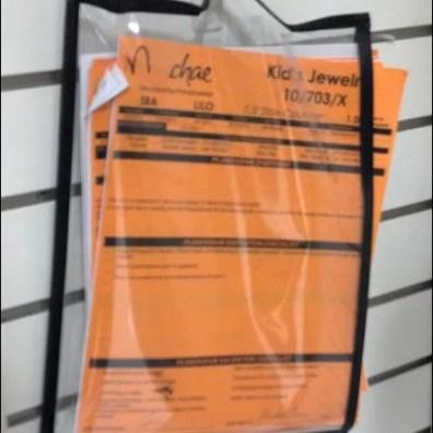 Planogram Storage Closeup