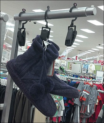 Shoe Clothes Pin Display Main