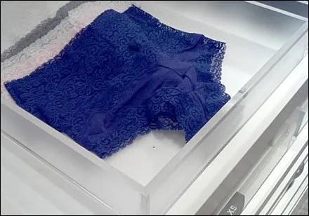 Panties-Not-In-A-Bunch Tray Merchandising