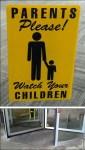 Warning: Door Eats Children