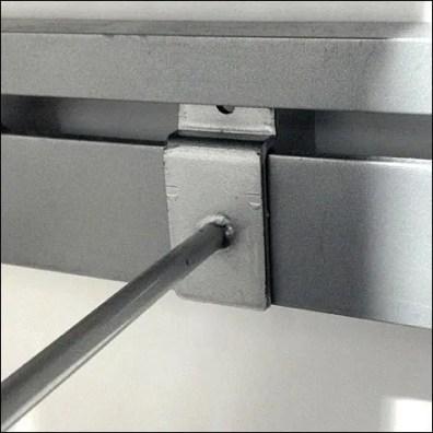 Slot Specific J-Hook Closeup
