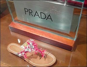 Dare to Wear Prada Sandals Overview Aux