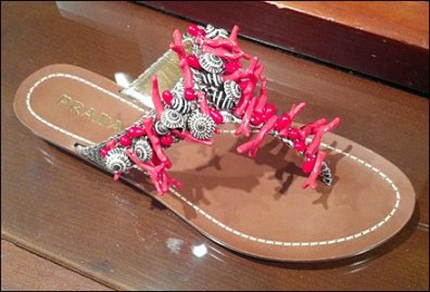 Dare to Wear Prada Sandals