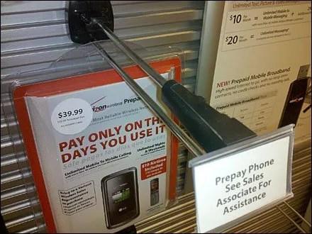 Land Mines As Retail Anti-theft?