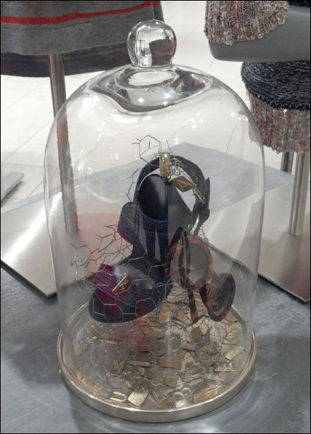 Chicken-Wire Bell Jar Outfitting